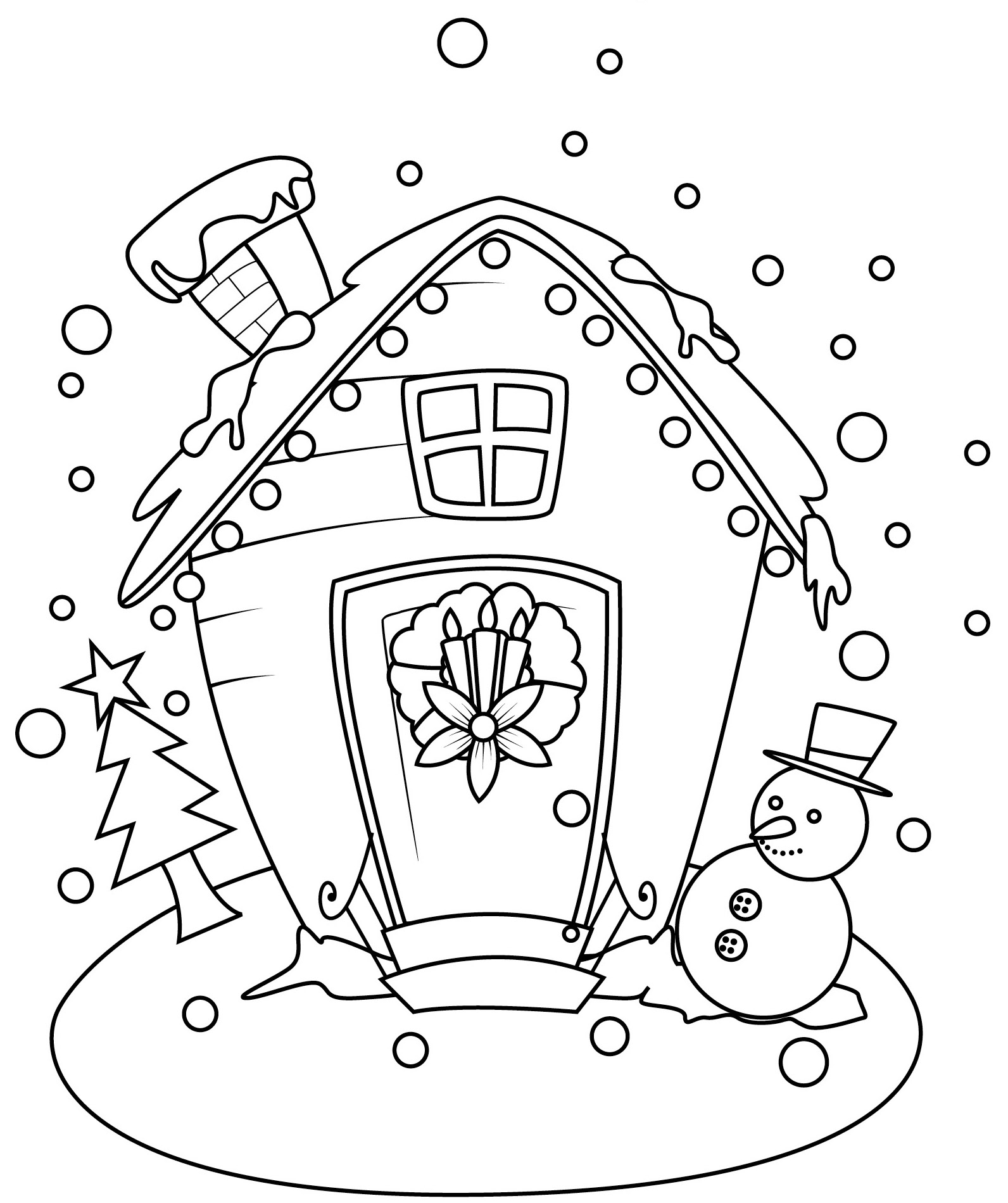 Kids\' Coloring Cards for the Holidays - Make It RightMake It Right
