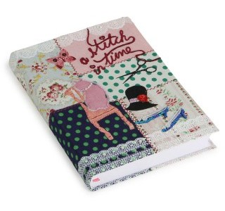 hand stitched notebook - paperchase