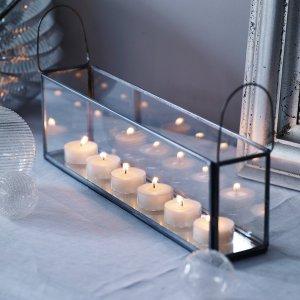 scandi Tealight Tray - The White Company