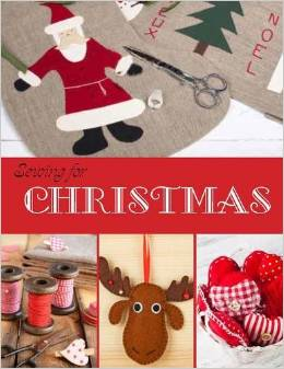 sewing for Christmas - Rebecca McCallion