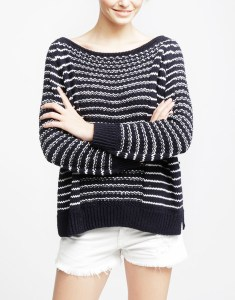 knit your own riviera sweater - wool and the gang