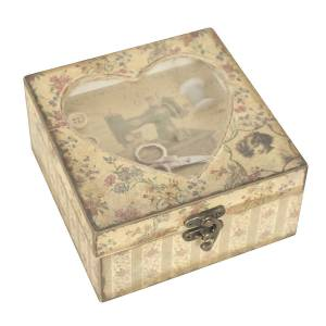 vintage style craft box by dibor - notonthehighstreet.com