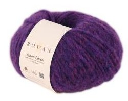 Brushed Fleece in Hollow - Rowan