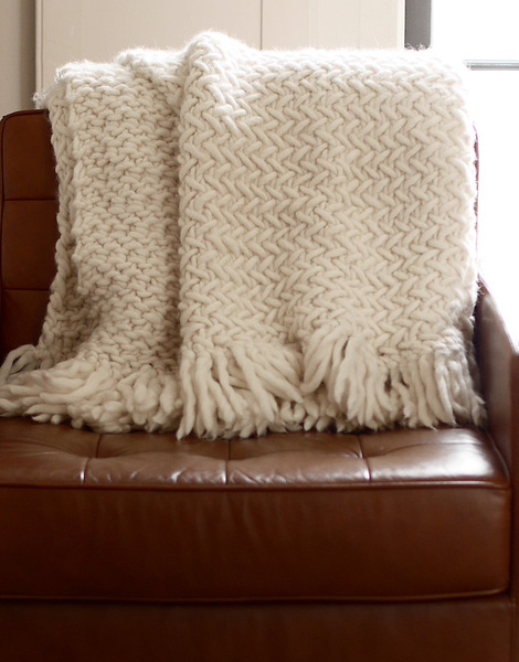 Koselig Blanket Pattern - Wool and the Gang