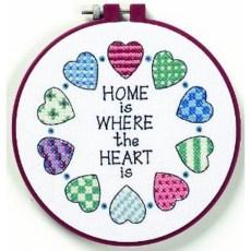 Learn-a-Craft Stamped Cross Stitch Kit - Stitch Craft Create