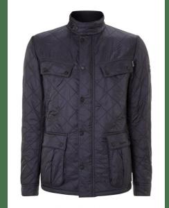barbour international quilted ariel polar jacket
