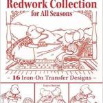 From the Bookcase: Sunbonnet Sue Redwork Collection for All Seasons by Loyce Saxton
