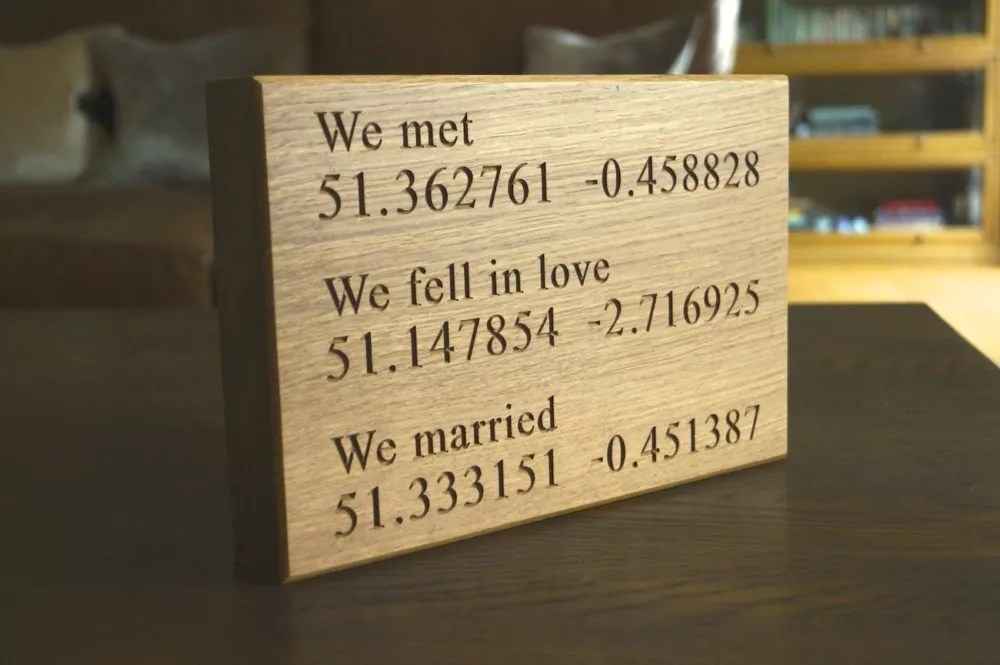 5th wedding anniversary gift ideas for him 5th wedding anniversary wedding anniversary personalised wall plaque makemesomethingspecial co uk