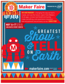 Maker Faire Bay Area 2015 Map