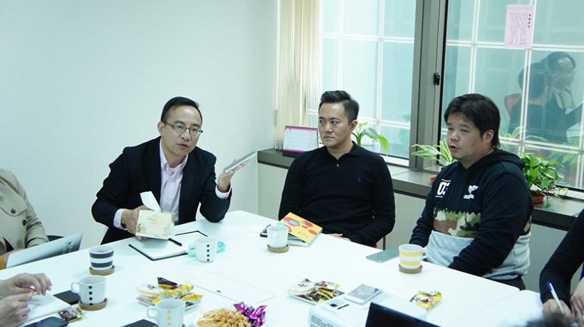 美鈦國際總經理游明熏(左)