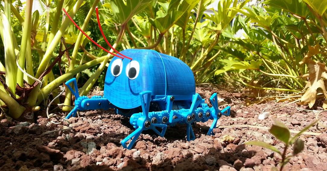 BILLY IL ROBOT CHE STAMPI IN 3D E LO PROGRAMMI CON ARDUINO