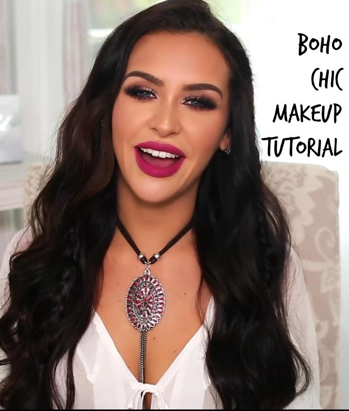 boho chic makeup