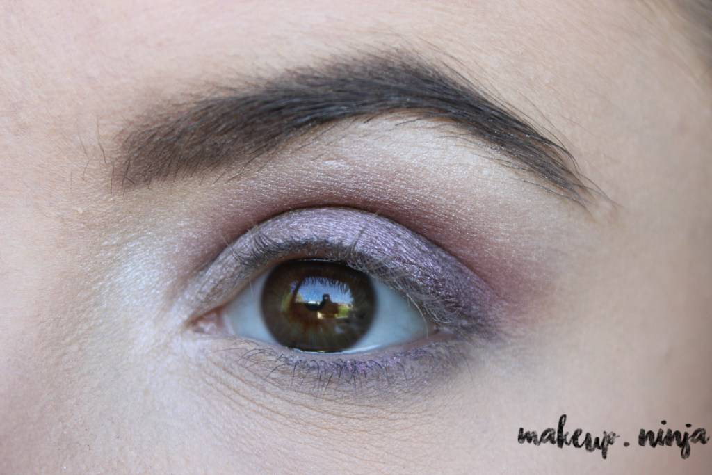 step 8 - Lilac Eyeshadow Tutorial for Spring