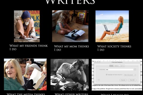 Great Writer's Past & Present – Working & Writing