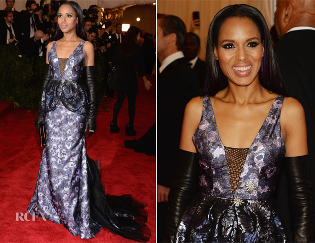 Kerry Washington Met Gala Tarte