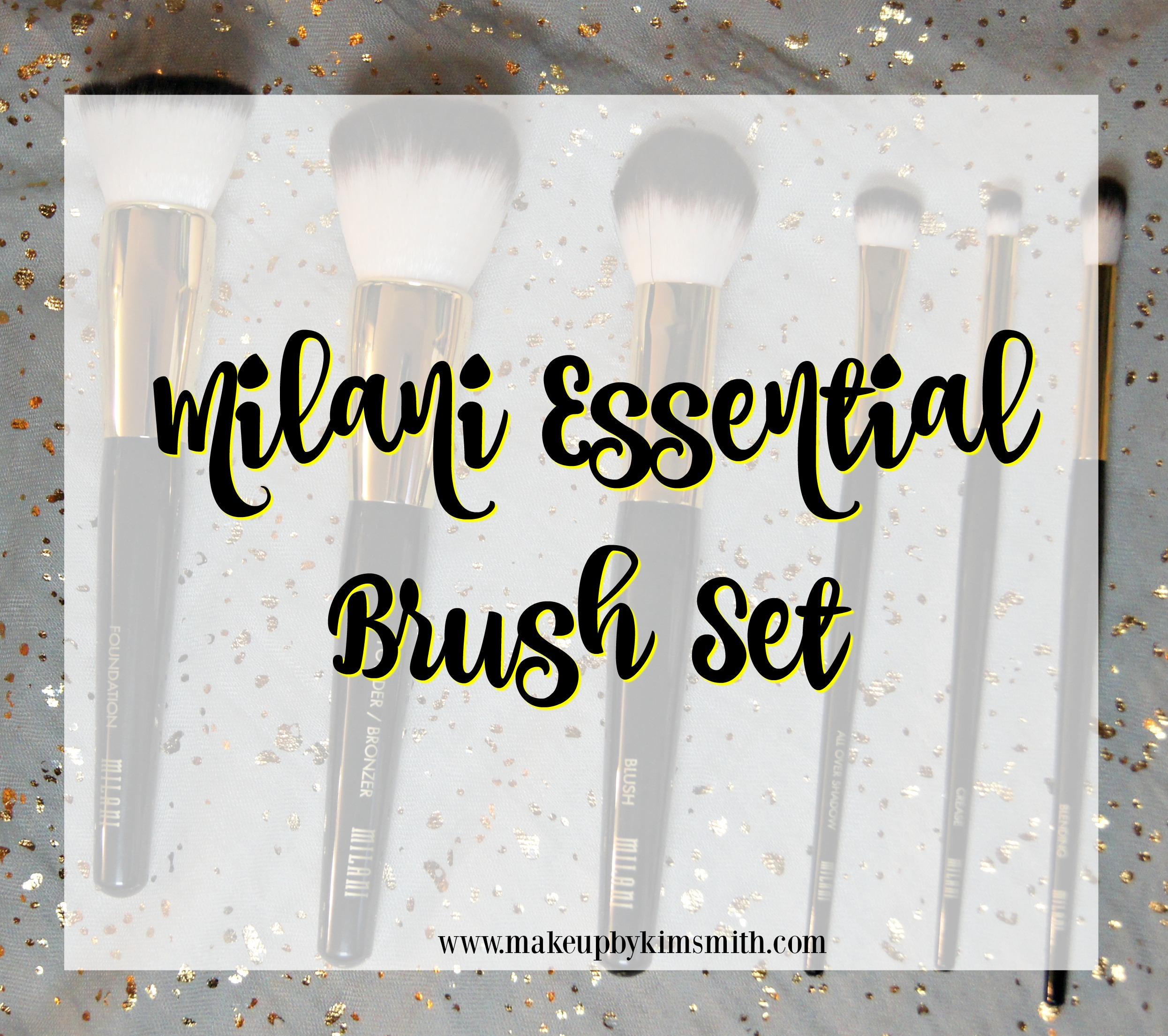 The New Milani Essential Brush Set