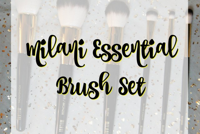 Milani Essential Brush Set