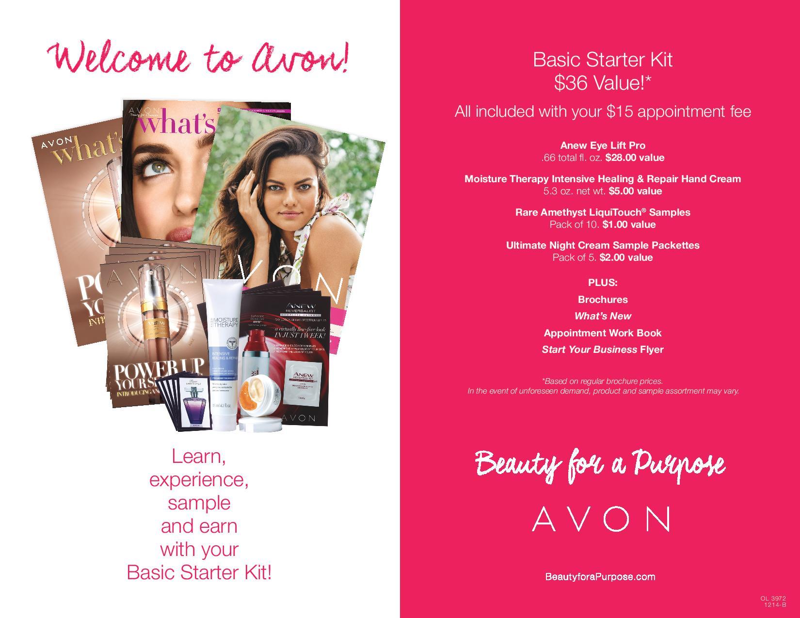 Avon Starter Kit >> New Avon Starter Kits! - Makeup Maven JessicaMakeup Maven Jessica