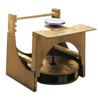 Pottery Kick Wheel Wood and Metal Parts Kits