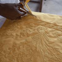 goldenspidercape