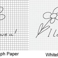 Whitelines vs Regular Graph Paper