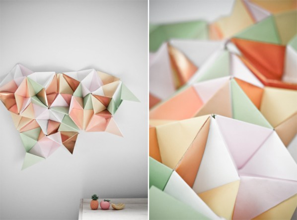 Paper Triangle Web