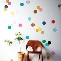 Giant confetti wall
