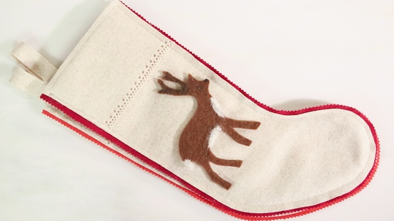 Martha Stewart woodland stocking