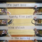 Made On Earth — A Reel-Time Clock