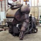 Kurata's giant anime robot