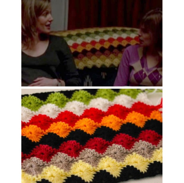 "A ""Breaking Bad"" uberfan contacted Sarah London asking how to crochet the afghan that sits on Walt and Skyler's couch. Sarah provides instructions on her blog."