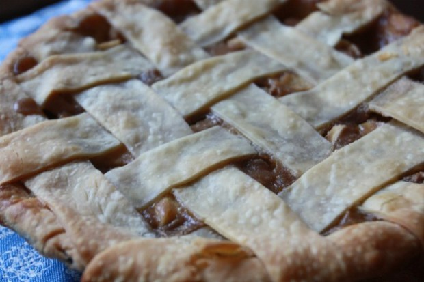Apple pie — there are actually three recipes on the end of this link: traditional, Dutch, and French-style apple tart.