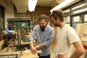 One of the best strengths about our shop is the community. Being a beginner-friendly and open place fosters a sense among the students that they can ask anyone for help. Not only does this save tools that might otherwise be abused due to misuse, but also increases the level of knowledge for the entire workshop as people learn new skill sets.