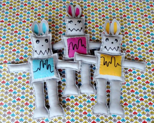 What's a robbit? Why, a robot rabbit, of course! No geektastic Easter basket would complete without one.