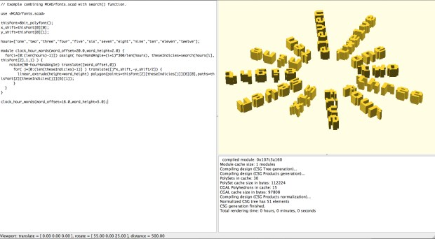 A script-based modeller available for Mac, Linux, and PC. Download it here and read editor Sean Ragan's great tutorial on using it here.