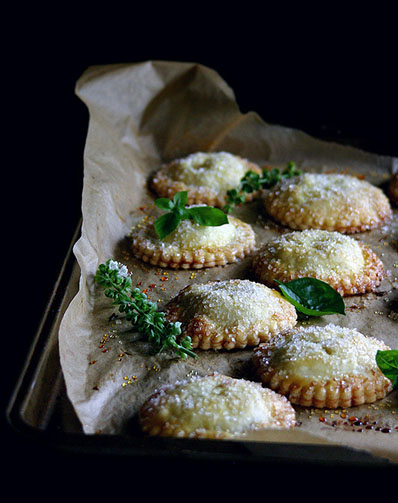White peach and basil hand pies — I love unusual flavor combos. This sounds like it could be amazing, as long as the basil doesn't overpower.