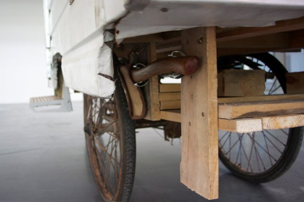 Close up of the Camper Bike
