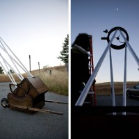 "Douglas Smith's ""First Light"" Dobsonian Telescope"