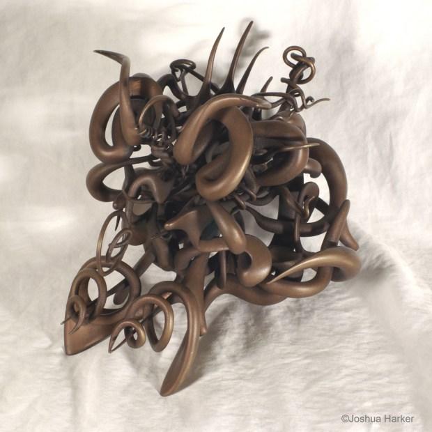 Idiosyncratic Aberrance in bronze
