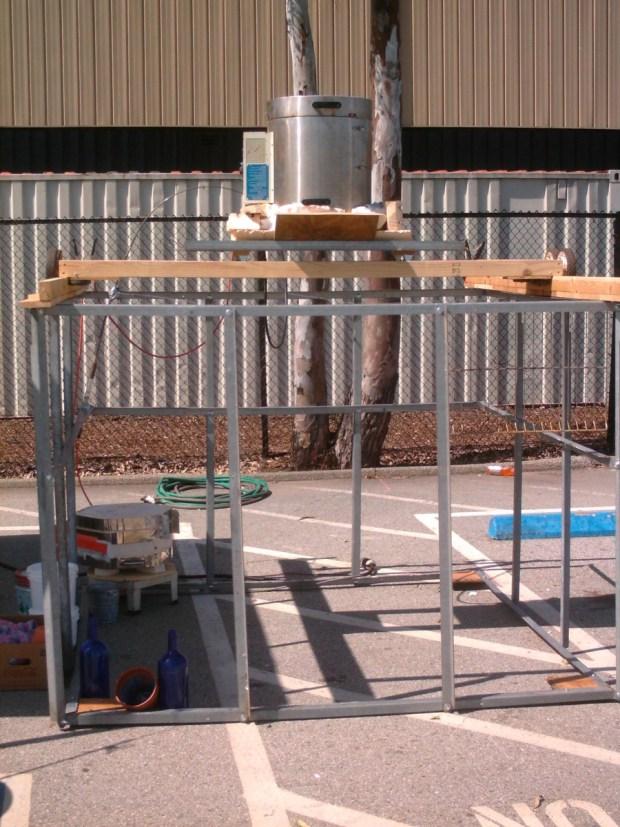 Building a 3D Molten Glass Printer with a Vitrigraph kiln.