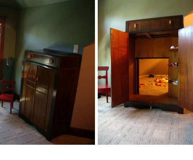 14/17: Secret Playroom Behind Armoire, Douglas Shepherd (link)