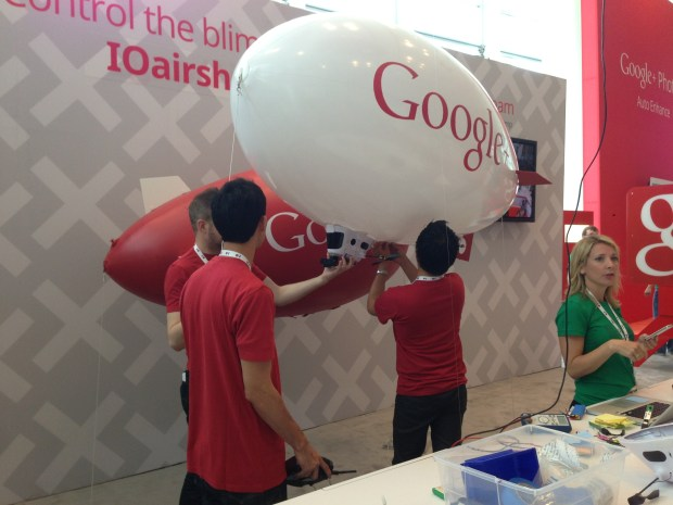 The Google+ Blimps