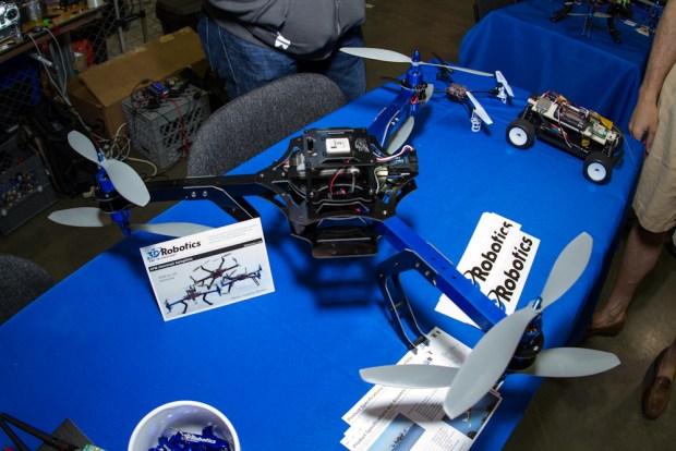 3D Robotics multirotors.