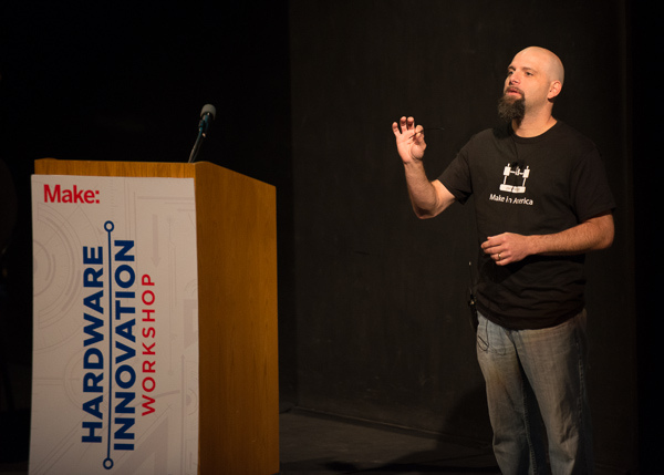 Printrbot's Brook Drumm tells his story of crowdfunding success.