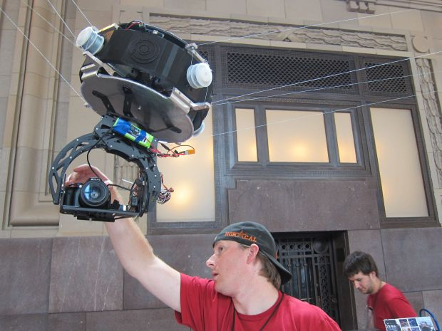 These young KC makers plan to disrupt Hollywood with their remote control camera platform. http://GoCandyCam.com