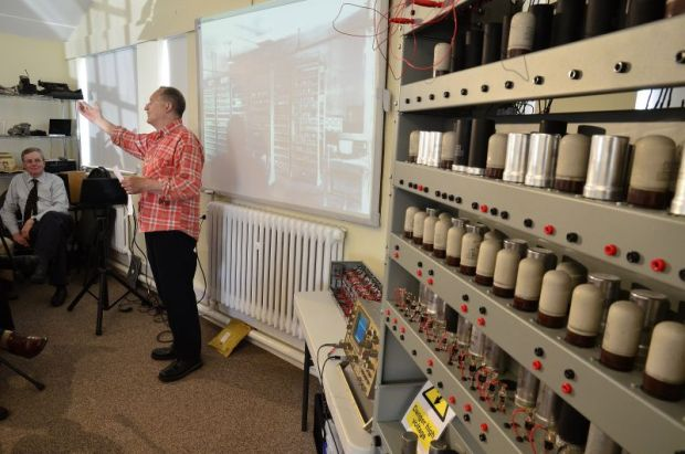 Key elements of the restored Electronic Delay Storage Automatic Calculator (Edsac) were unveiled on Wednesday.