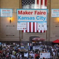 Maker Faire Kansas City celebrated its third year with bigger crowds than ever before.
