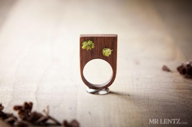 Moss ring.
