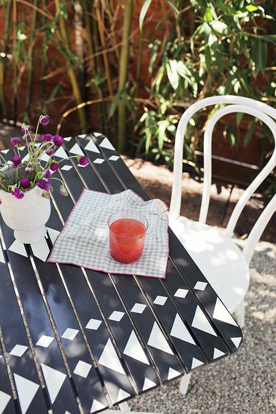 geometric bistro table-1