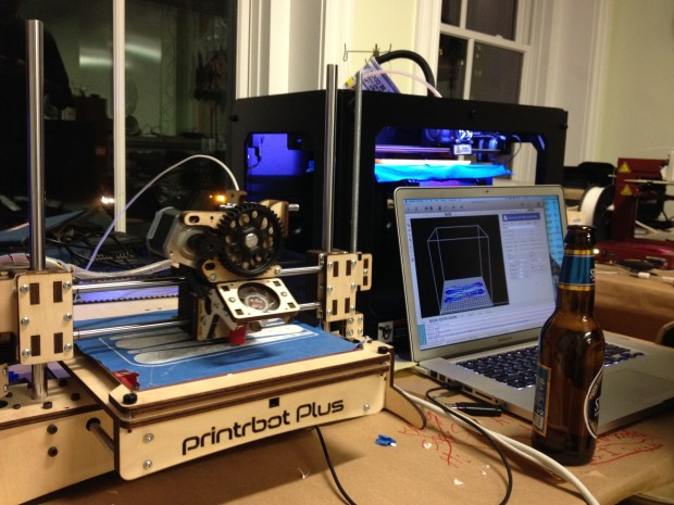 Printing prosthetics on a Printrbot+, Replicator 2 and Afinia